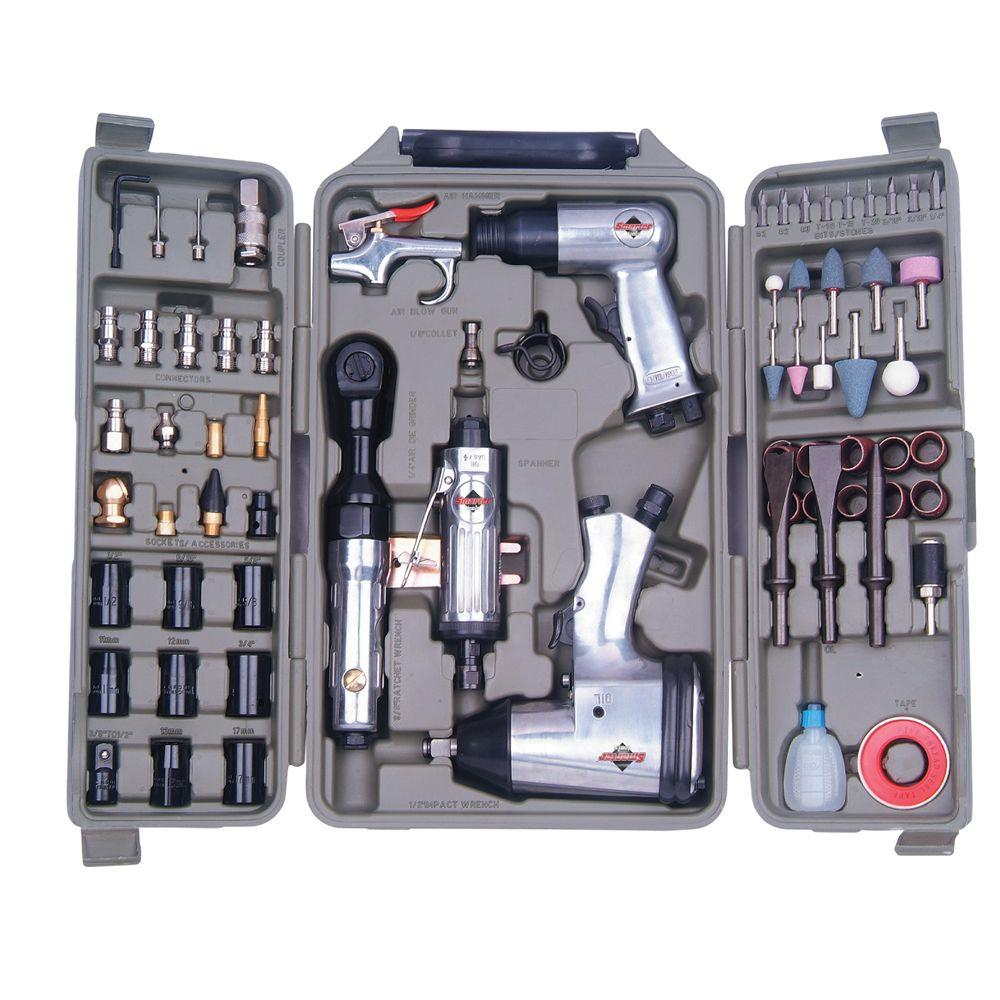 Smarter Tools 71-Piece Air Tool Kit-DISCONTINUED