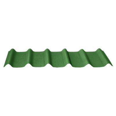 42 in. x 16 in. x 1.6 in. Forest Green Asphalt Shingles (10-Pieces)