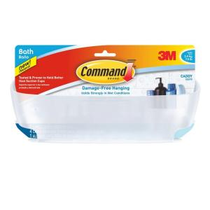 Command 7.5 lbs. Shower Caddy with Water-Resistant Strip by Command