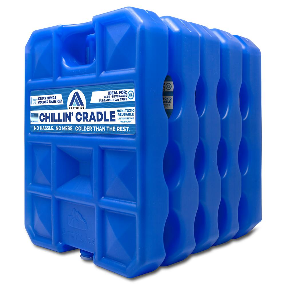 Arctic Ice 25 lbs. Chillin Cradle Cooler Ice Pack (5-Pack)