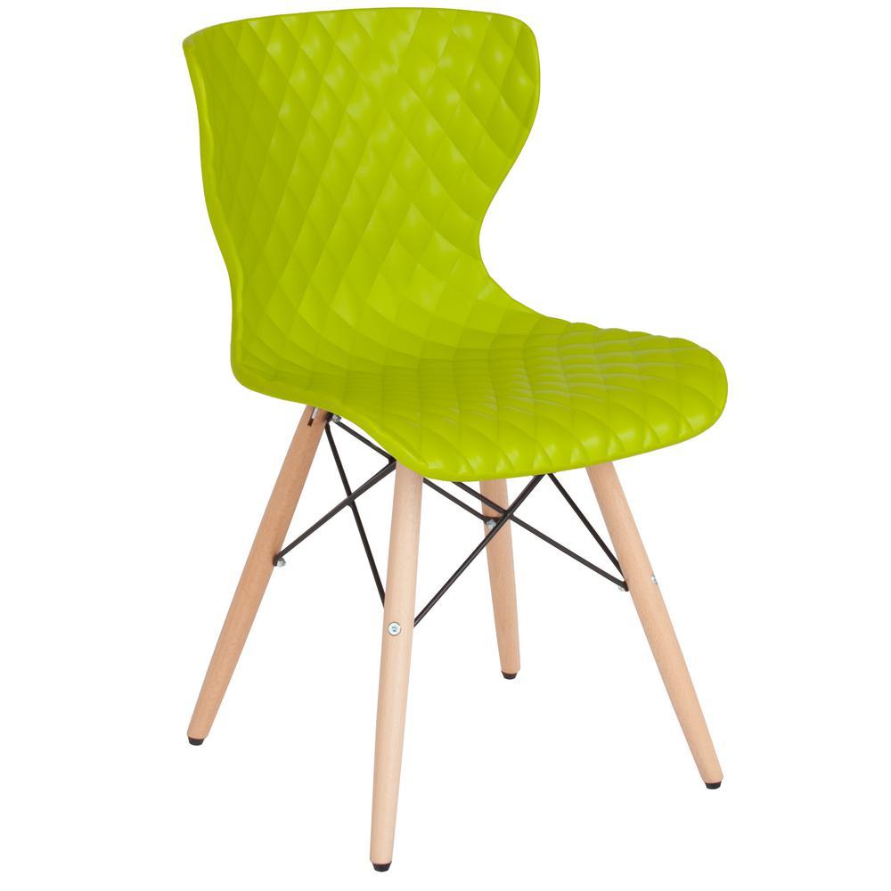 Citrus Green Plastic Office/Desk Chair