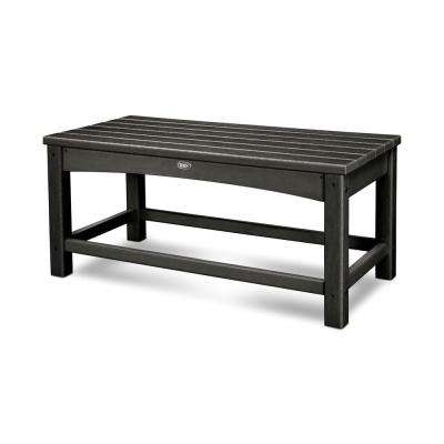 Rockport Club Charcoal Black Patio Coffee Table