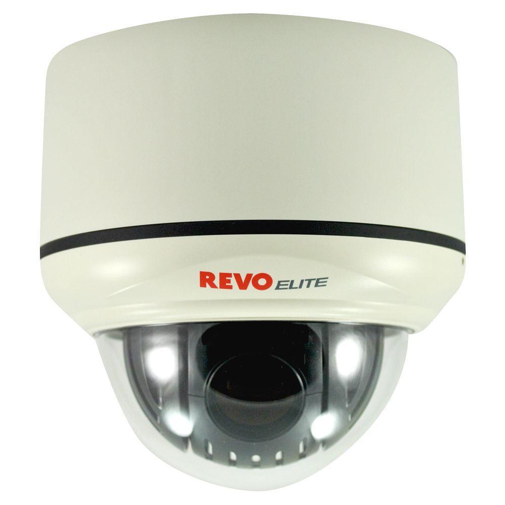 Revo Elite 580 TVL Indoor Pan Tilt Zoom Surveillance Camera-DISCONTINUED