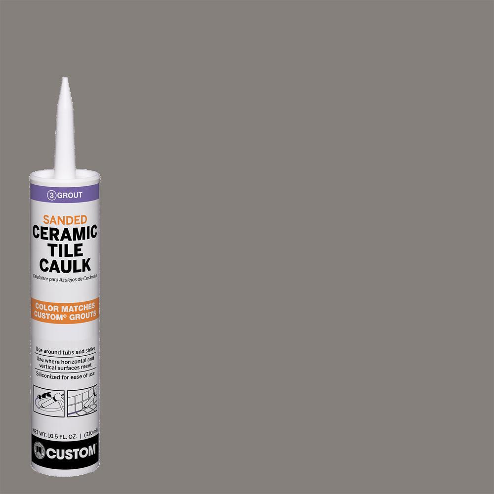Polyblend #335 Winter Gray 10.5 oz. Sanded Ceramic Tile Caulk