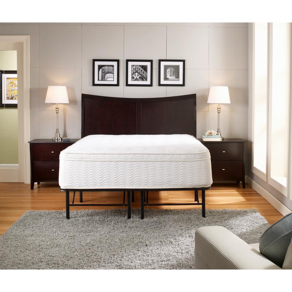Rest Rite 14 in Full Metal Platform Bed FrameMFP00112BBDB The