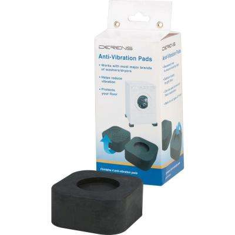 Universal Anti-Vibration Pads (4-Piece)