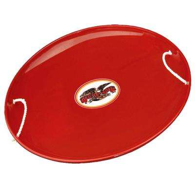 26 in. Steel Saucer Snow Sled
