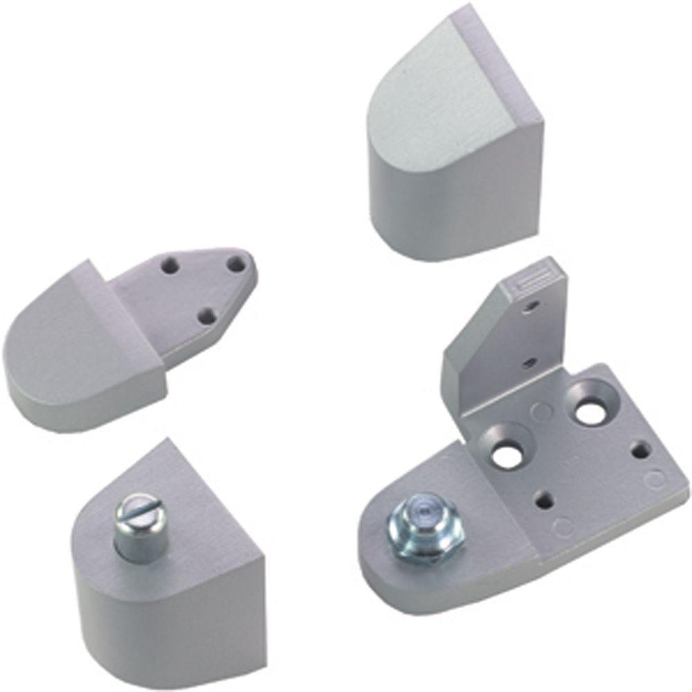Aluminum Door Pivots : Global door controls aluminum amarlite style left hand