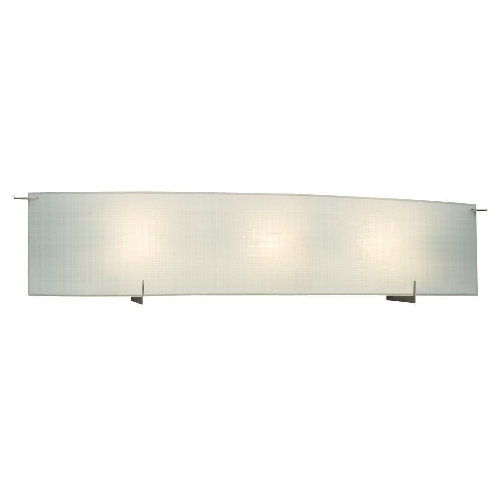 Bridgett 3-Light Pewter Bath Vanity Light