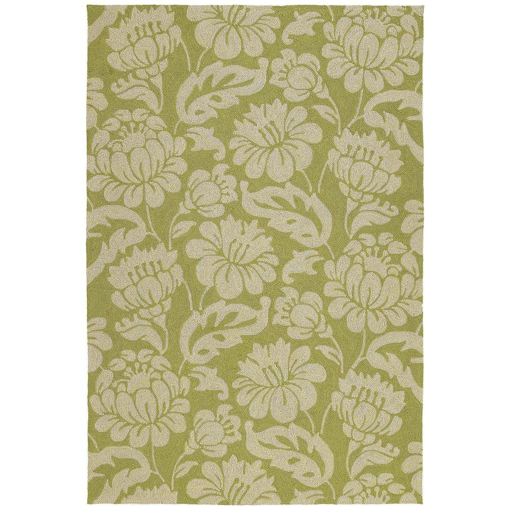 Habitat Calypso Wasabi 9 ft. x 12 ft. Indoor/Outdoor Area Rug