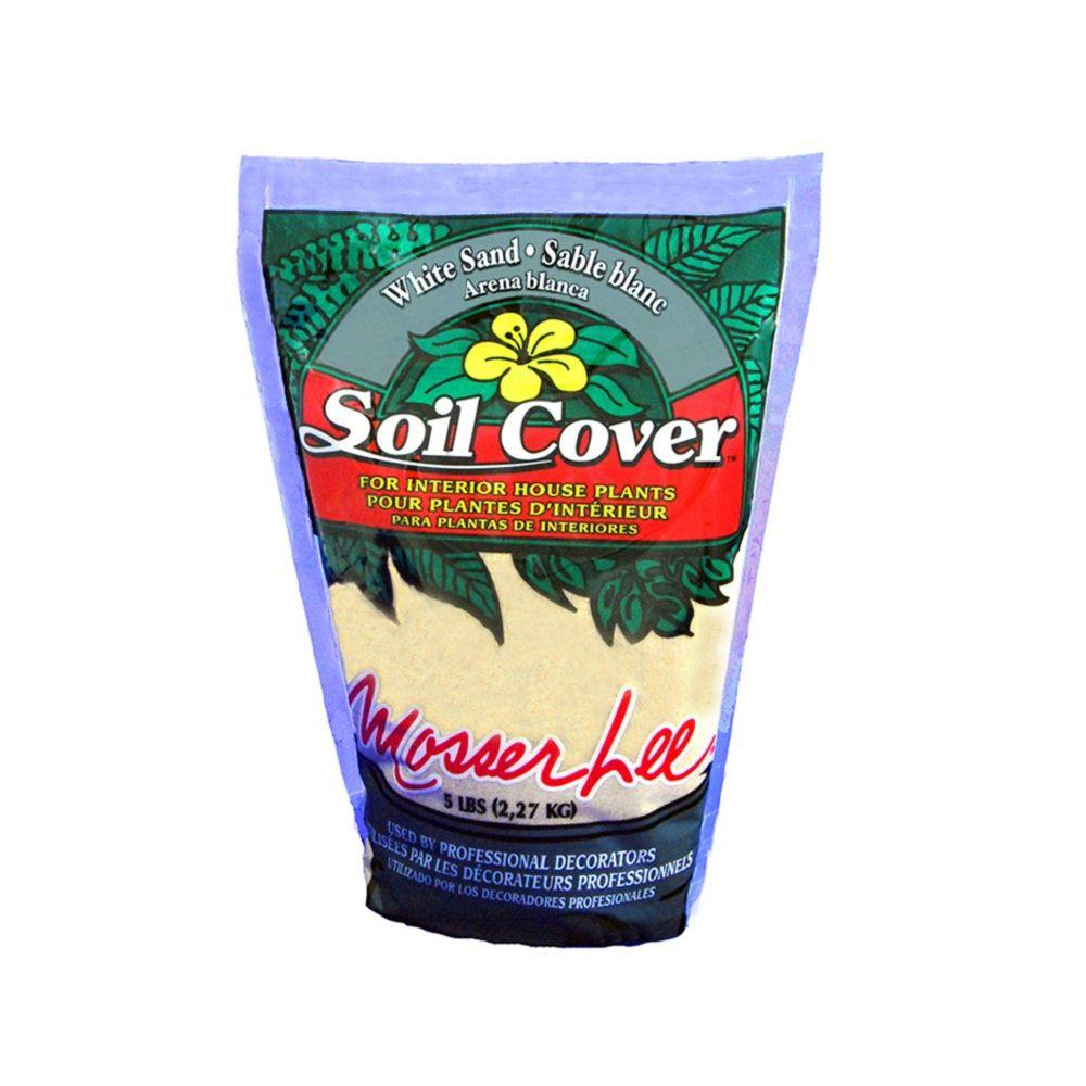 5 lb. White Sand Soil Cover