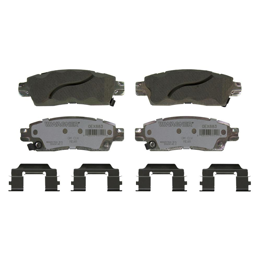 Wagner Brake Disc Brake Pad Set-OEX883 - The Home Depot
