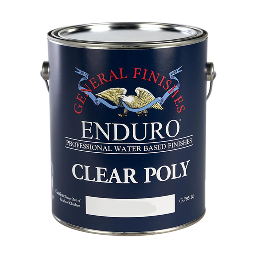 General Finishes 5-Ga. Satin Enduro Clear Poly Interior Topcoat