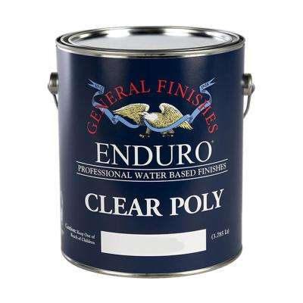 5-Ga. Satin Enduro Clear Poly Interior Topcoat