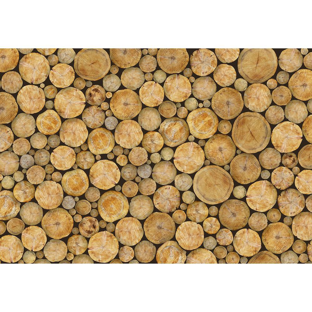 Logs Wall Mural