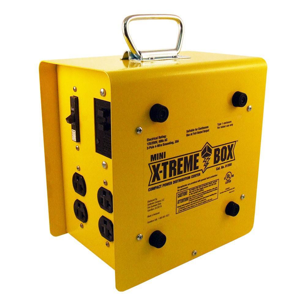 Mini X-Treme Box Compact Power Distribution Center