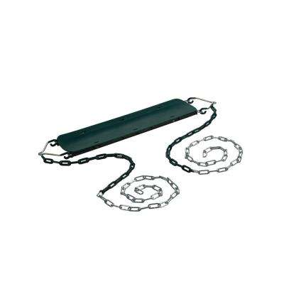 Beginner Swing Seat with Chains- Green