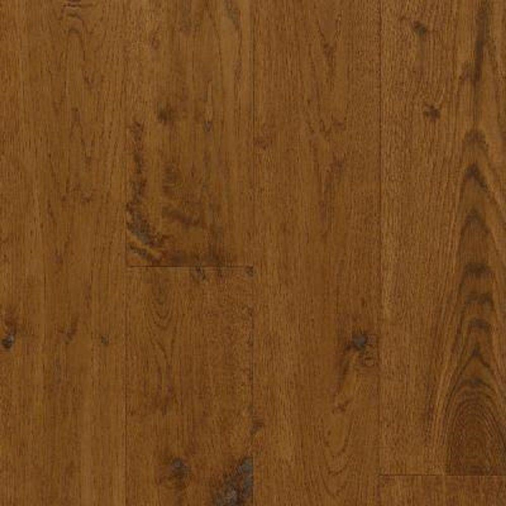 Bruce Take Home Sample - American Vintage Fall Classic Oak Engineered Scraped Hardwood Flooring - 5 in. x 7 in.