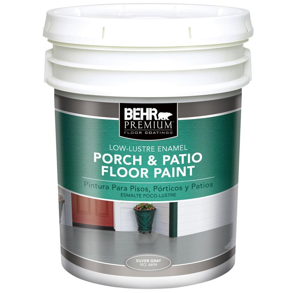 Low Luster Enamel Porch And Floor Paint 669405   The Home Depot