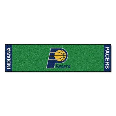 NBA Indiana Pacers 1 ft. 6 in. x 6 ft. Indoor 1-Hole Golf Practice Putting Green