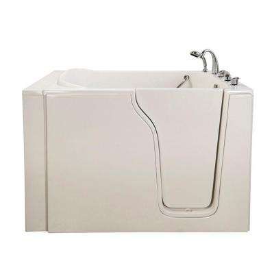 Bariatric 33 4.58 ft. x 33 in. Walk-In Whirlpool Bathtub in White with Right Drain/Door