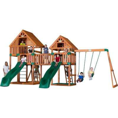 Vista All Cedar Playset