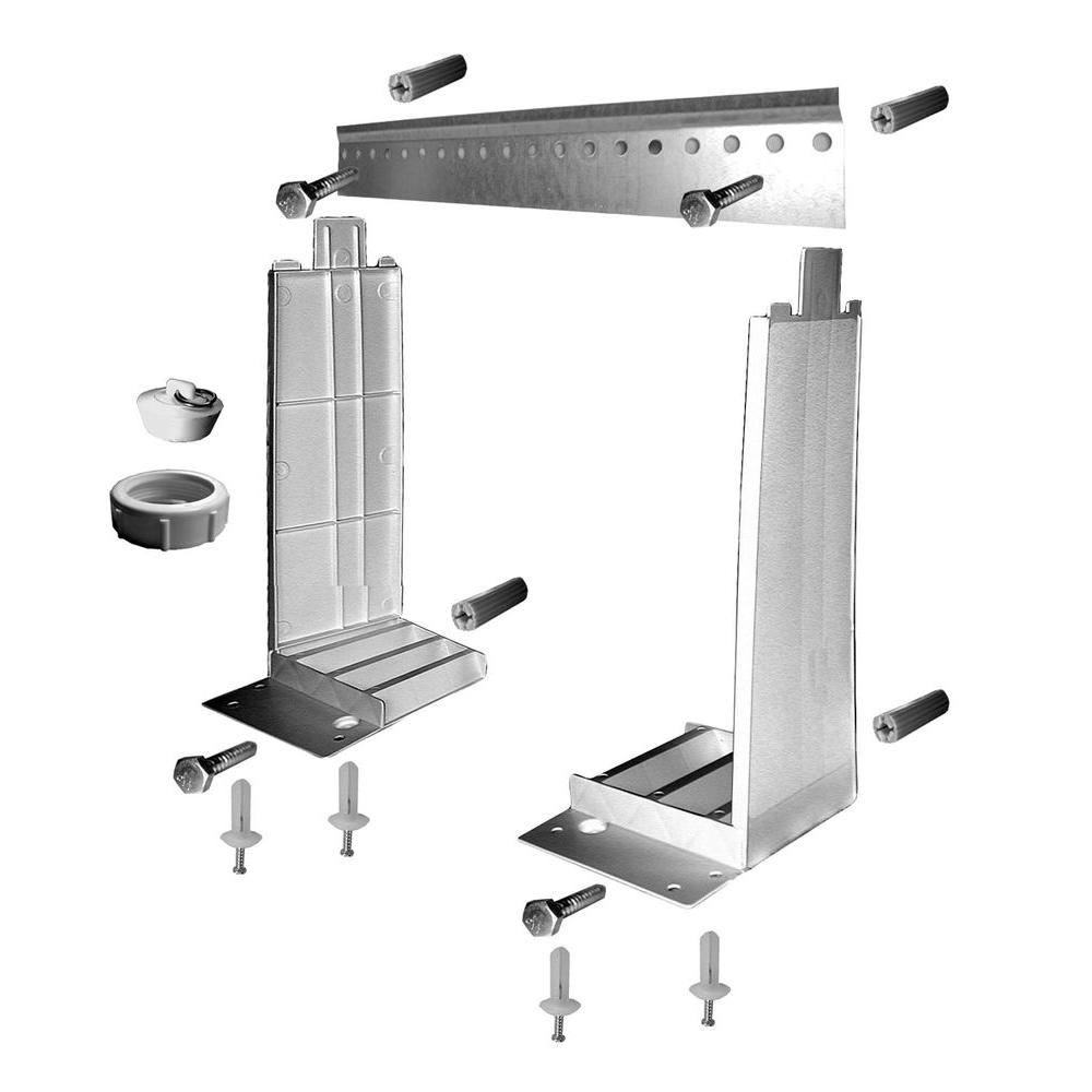 Wall Mounting Hardware : Mustee wall mounting hardware for w the