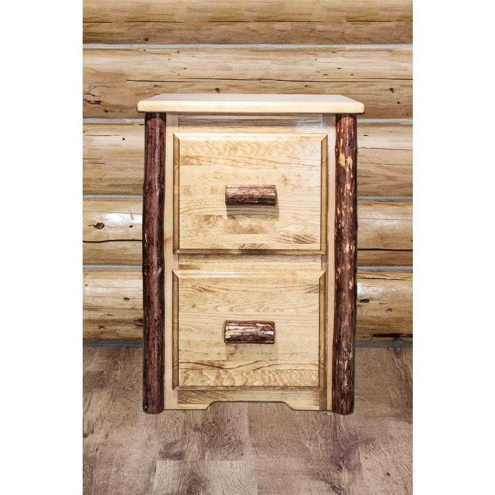 Glacier Country Puritan Pine File cabinet