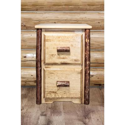 Glacier Country Puritan Pine File cabinet