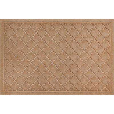 WaterGuard Cordova Medium Brown 2 ft. x 3 ft. Polypropylene Mat