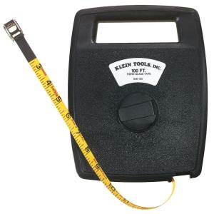 Click here to buy Klein Tools 100 ft. Tape Measure by Klein Tools.