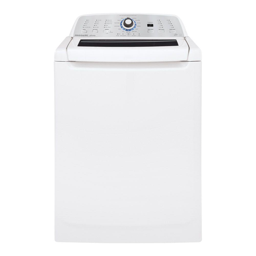 Frigidaire Affinity 3.4 cu. ft. High-Efficiency Top Load Washer in White