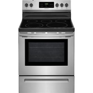 Frigidaire 30 inch 5.3 cu. ft. Electric Range with Self-Cleaning Oven in Stainless Steel by Frigidaire