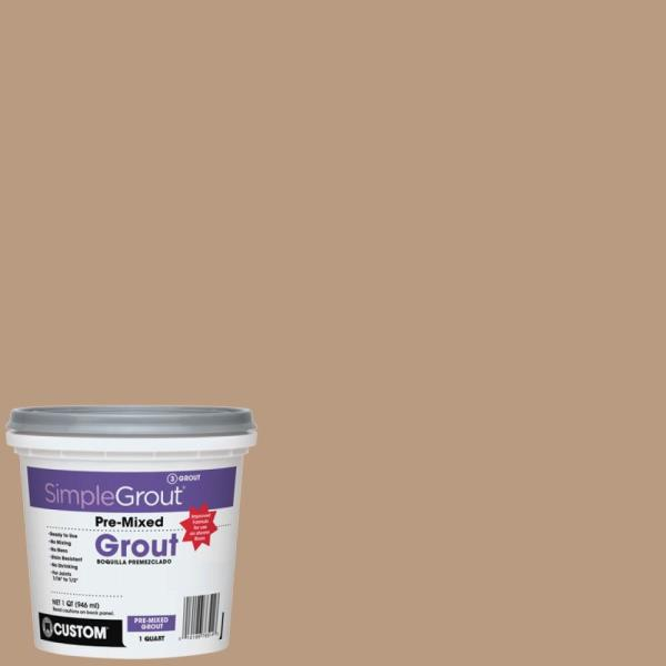 SimpleGrout #180 Sandstone 1 Qt. Pre-Mixed Grout