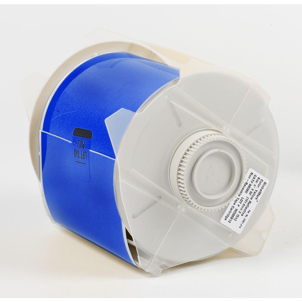 B569 GlobalMark 2.25 in. x 100 ft. Polyester Blue Tape