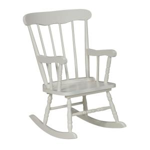 White Rocking Kids Chair