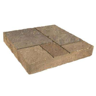 Avellino Stone 16 in. x 16 in. x 2.25 in. Avondale Tan/Brown/Charcoal Concrete Step Stone (72 Pcs/120 sq. ft. /Pallet)