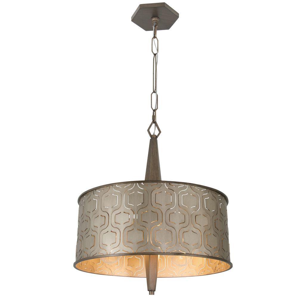 Varaluz Drum Pendant Lights Hanging Lights The Home Depot