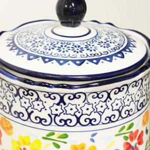 Luxembourg Stoneware Canister with Lid
