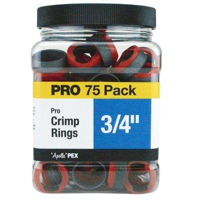 3/4 in. Copper Pro Crimp Ring Jar (75-Pack)