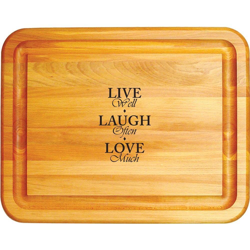 Catskill Craftsmen Wooden Reversible Cutting Board 1334