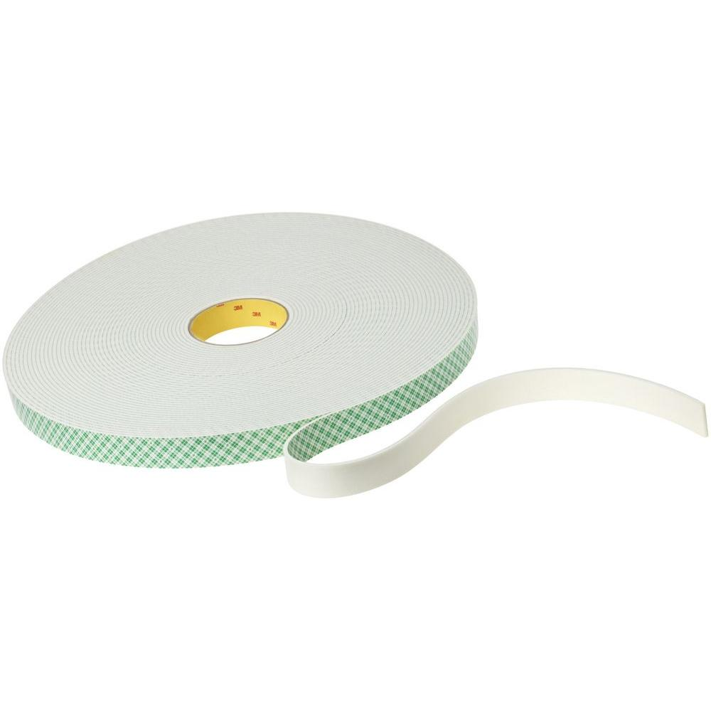 3M Scotch 1 in. x 4 yds. Double Sided Mounting Tape (Case of 5)