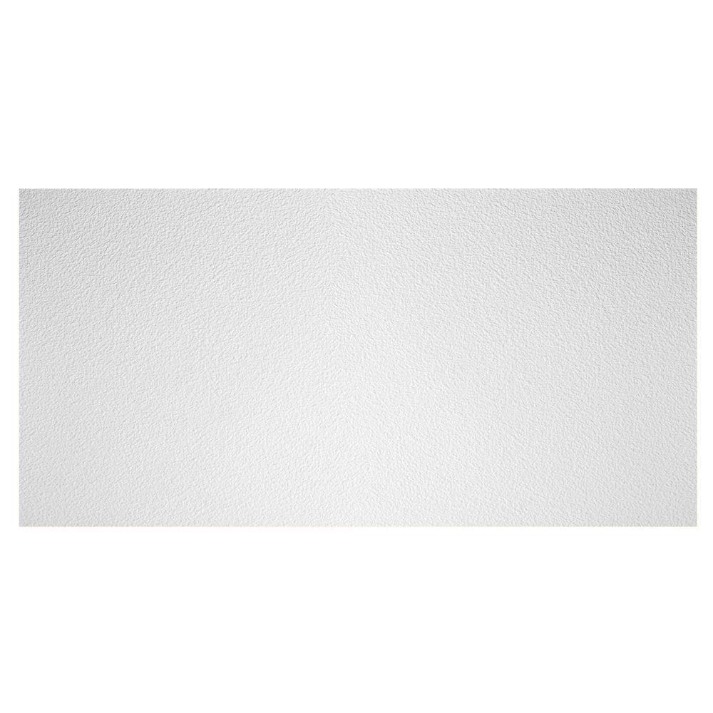 Genesis 2 ft. x 4 ft. Stucco Pro Lay-in Ceiling Tile-765-00 - The Home Depot
