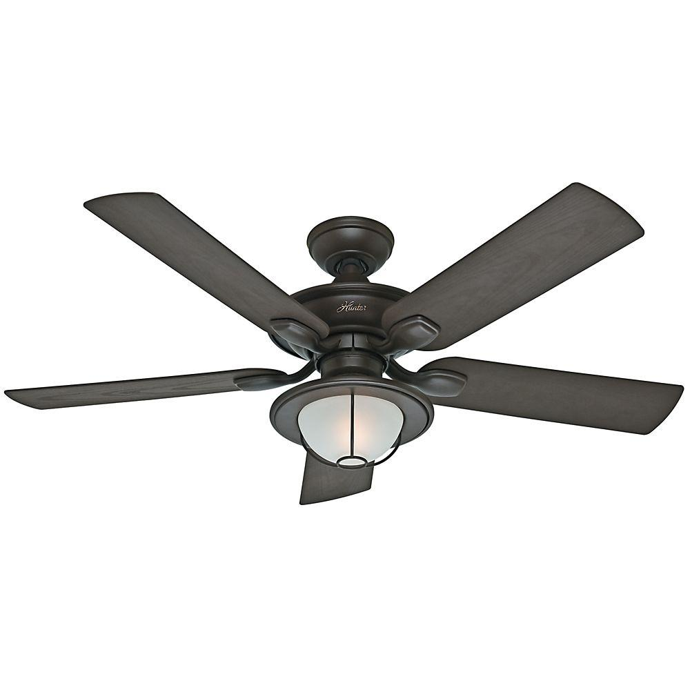 Hunter maribel 52 in outdoor new bronze ceiling fan 59029 the hunter maribel 52 in outdoor new bronze ceiling fan 59029 the home depot mozeypictures Image collections