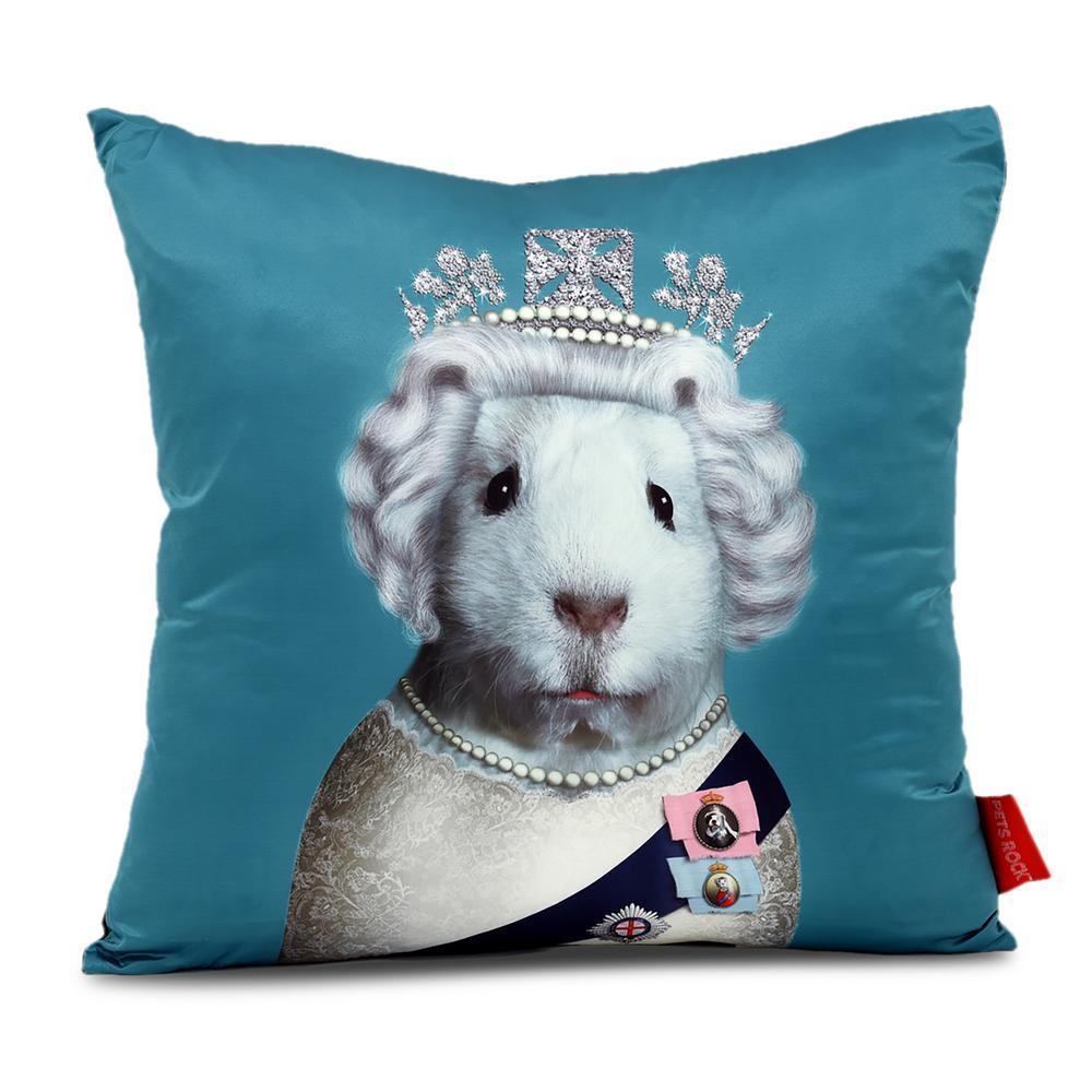 18 In X 18 In Red Pets Rock Hrh Throw Pillow Prp Pr029 1818