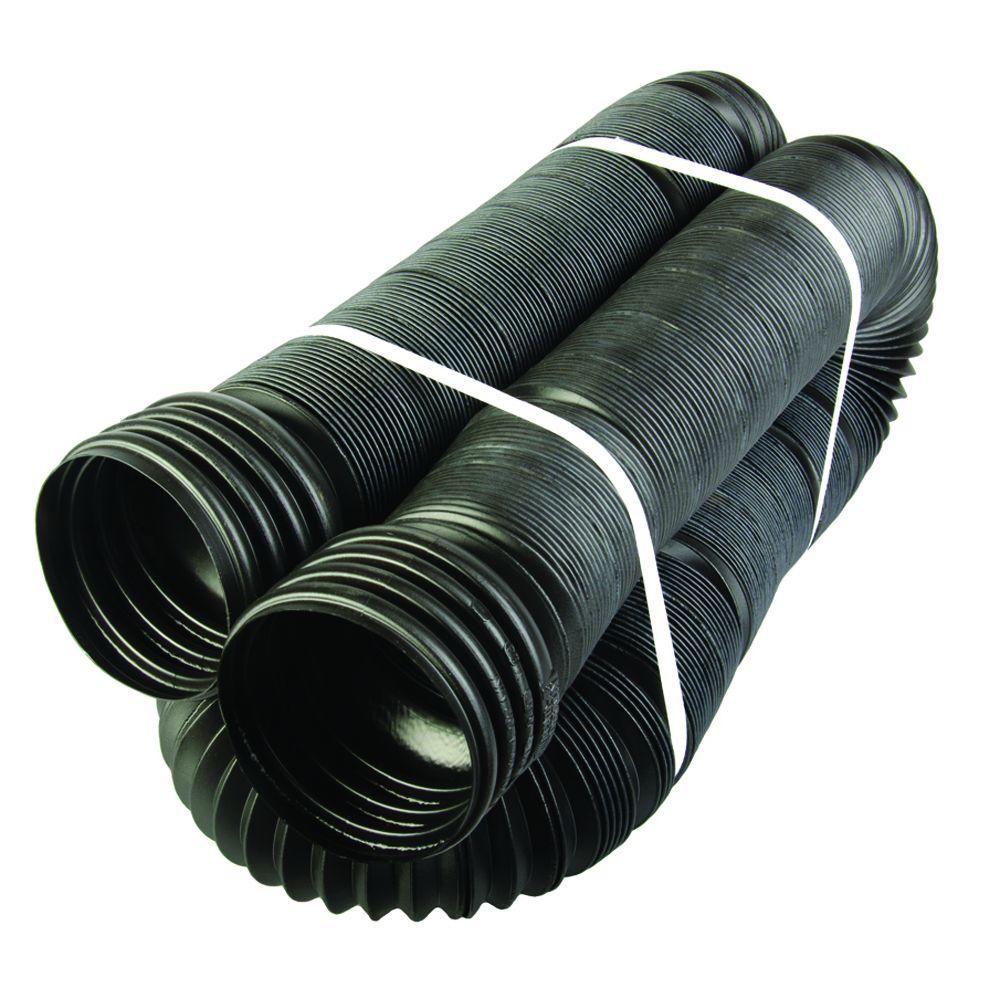 Bend a drain in ft polypropylene flexible solid