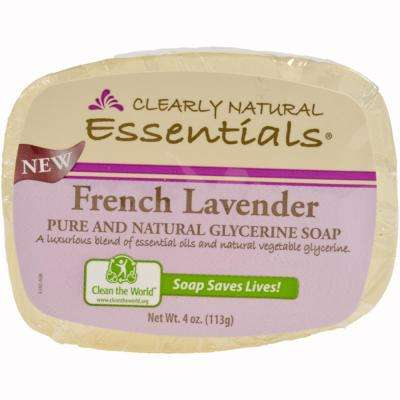 4 oz. Lavender Glycerin Bar Soap (12-Pack)