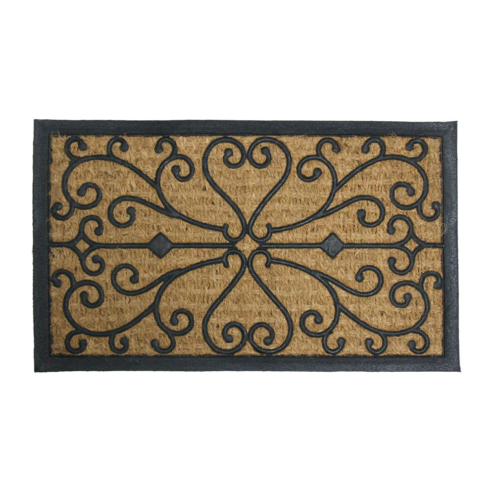 Harmony 18 in. x 30 in. Rubber Backed Floor Mat