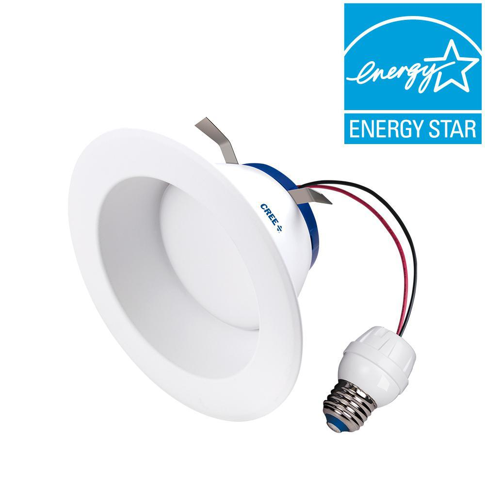 Cree 65w Equivalent Daylight 5000k 6 In Dimmable Led Retrofit Recessed Downlight