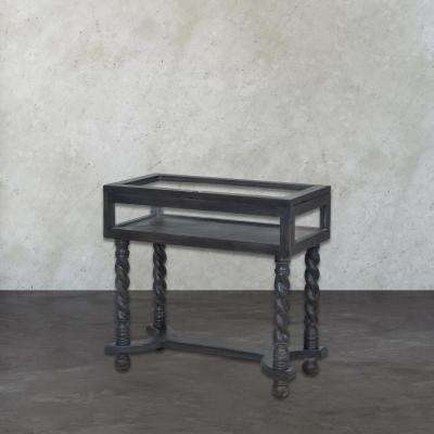 Barley Twist Ash Black Stain Display Console Table